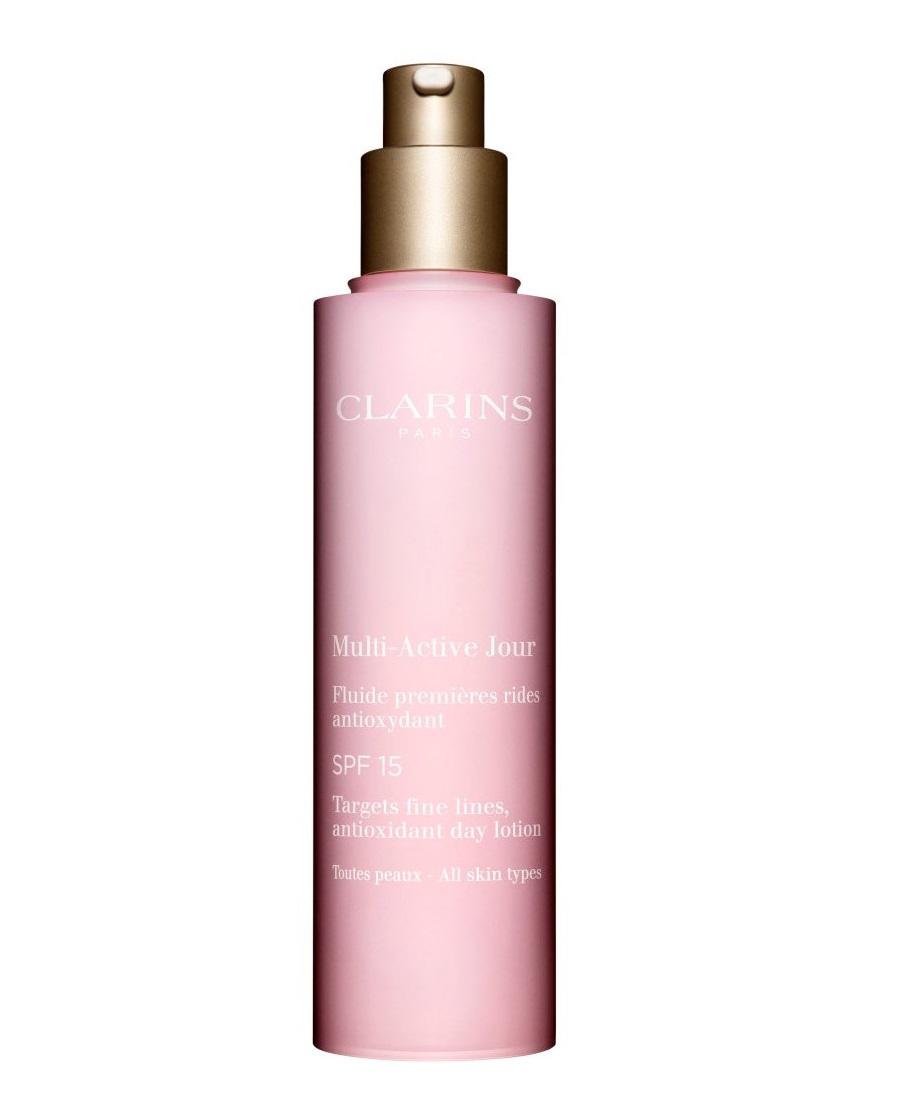 Clarins Multi-Activa Fluído Día SPF15 TP  para todo tipo de pieles
