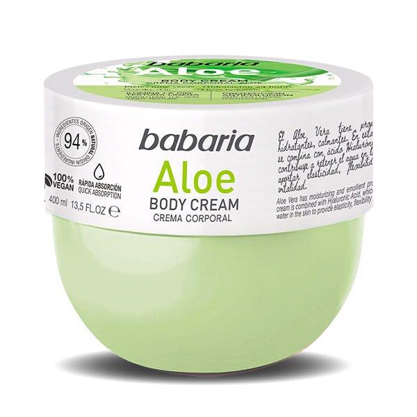 Babaria Body Cream Aloe  400 ml