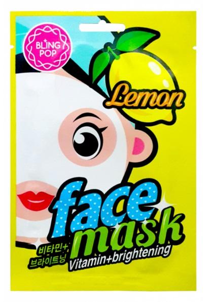 Bling Pop Mascarilla Facial Iluminadora Vitamina E