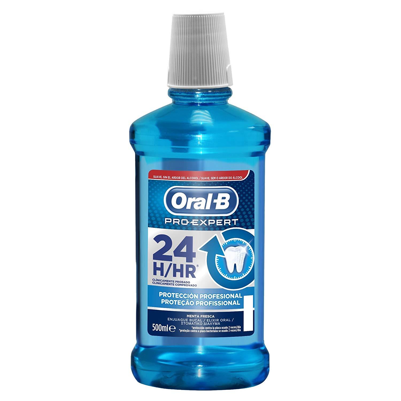 Oral-B Pro-Expert Enjuague Bucal Protección Profunda  500 ml