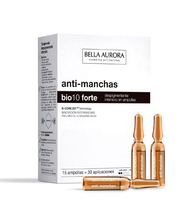 Bella Aurora BIO10 Forte  Tratamiento Antimanchas Intensivo Ampollas