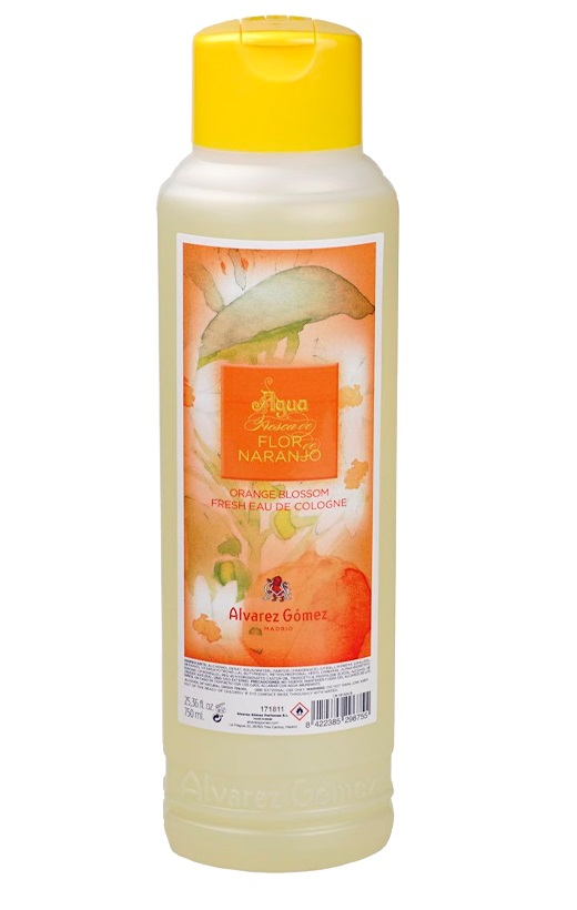 Alvarez Gómez Agua Fresca de Baño Flor Naranjo  Agua de Colonia unisex 750 ml