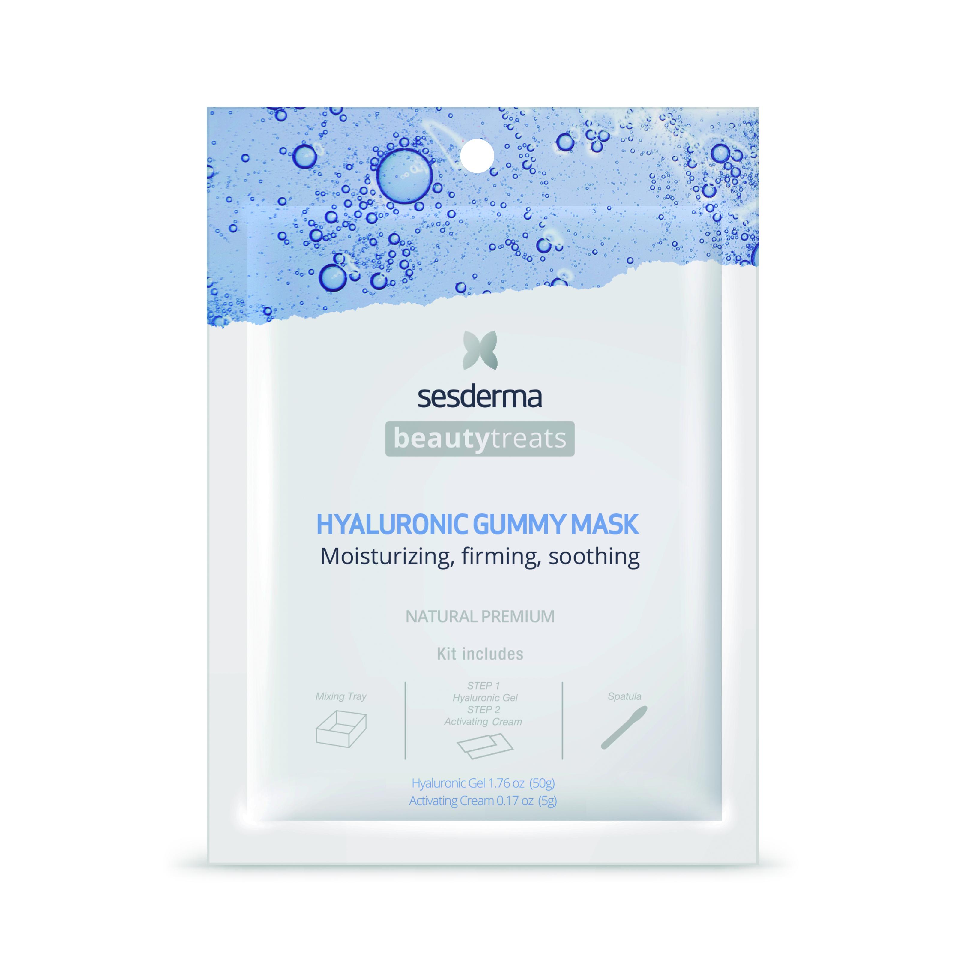 Sesderma Beauty Treats Hyaluronic Gummy Mask  Máscarilla facial hidratante 25 ml