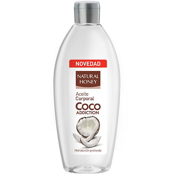 Natural Honey Aceite corporal Coco sin aclarado  300 ml