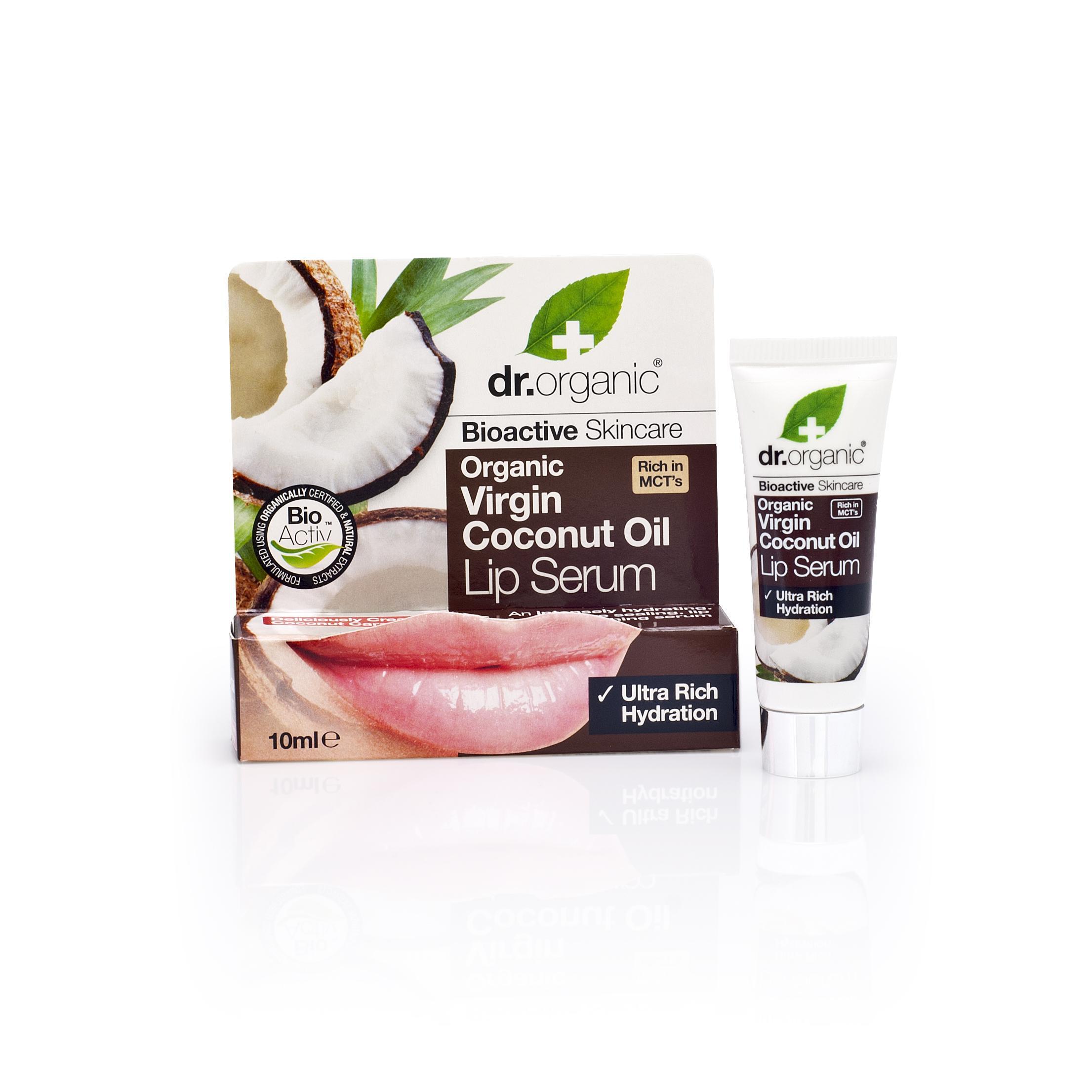 Dr. Organic Sérum Labial de Aceite de Coco