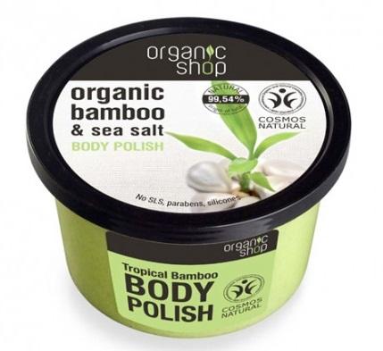 Organic Shop Exfoliante corporal bambú tropical