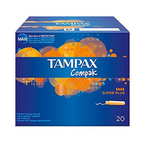 Tampax Compak Super Plus  Tampones 22 unidades