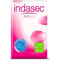 Indasec Compresa Incontinencia Mini  20 unidades
