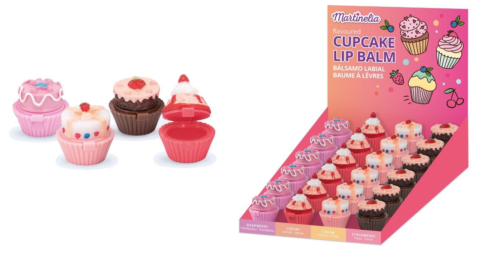 Martinelia Delicious Cupcakes  Bálsamo de Labios