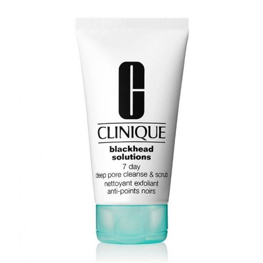 Clinique Blackhead Solutions Deep Pore Cleanse & Scrub 7 Días