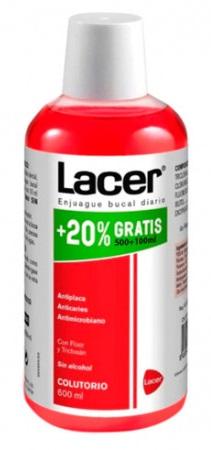 Lacer Enjuague  600 ml