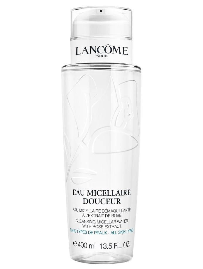 Lancôme Agua Micelar Douceur  Solución Desmaquillante Exprés Rostro, Ojos, Labios 400 ml