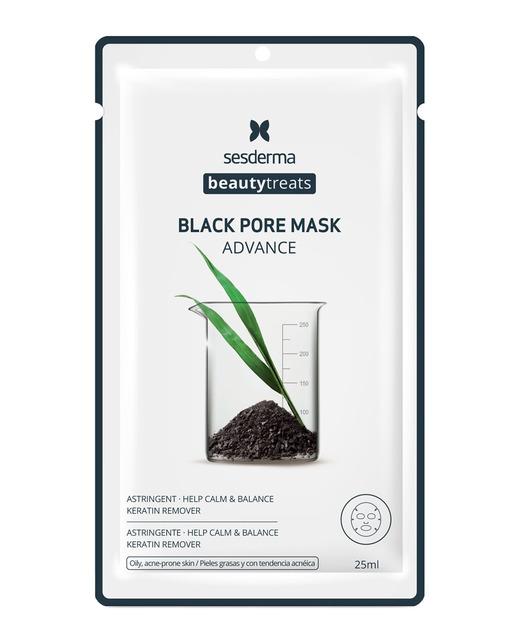 Sesderma Beauty Treats Black Pore Mask  Mascarilla facial anti-puntos negros 25 ml