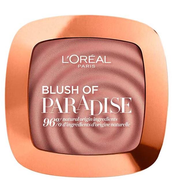 L'Oreal Paris Blush Of Paradise Rose Cherie  Colorete en polvo
