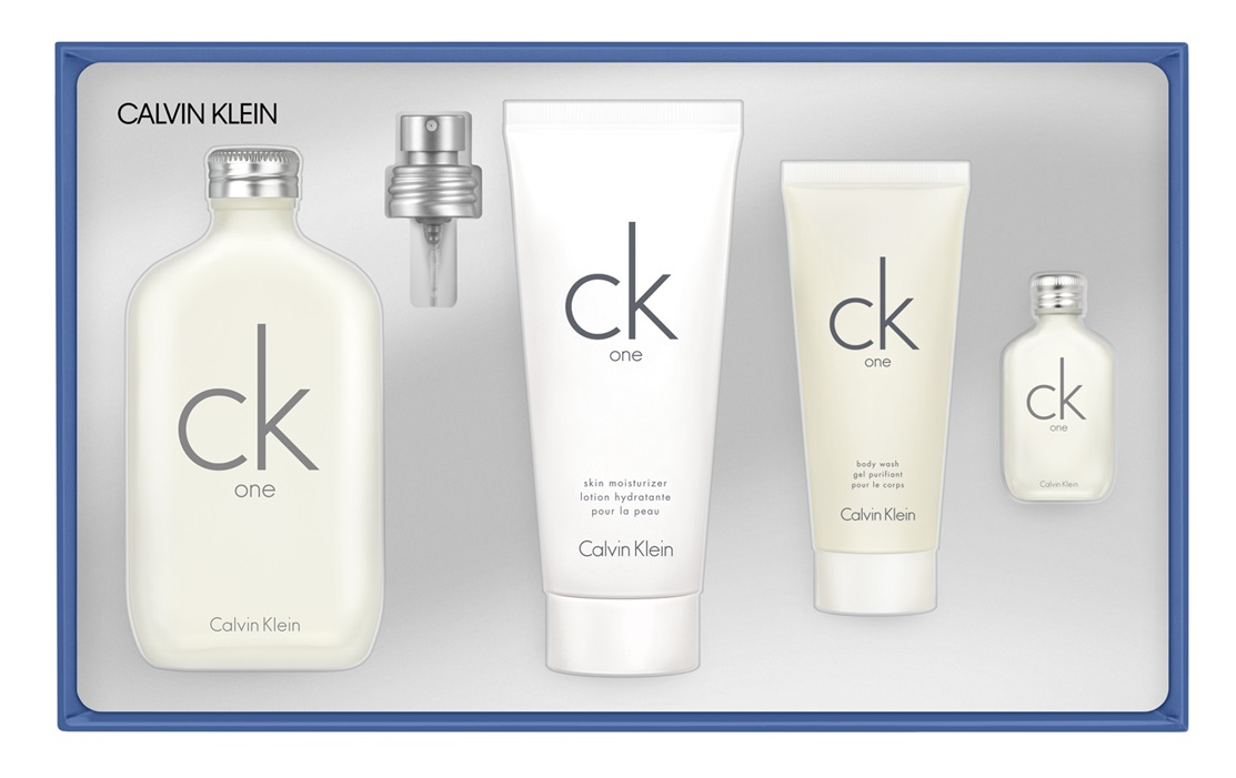 Calvin Klein CK One Estuche  EDT 200 ml + Loción 200 ml + Gel de ducha 100 ml + Miniatura 15 ml unisex