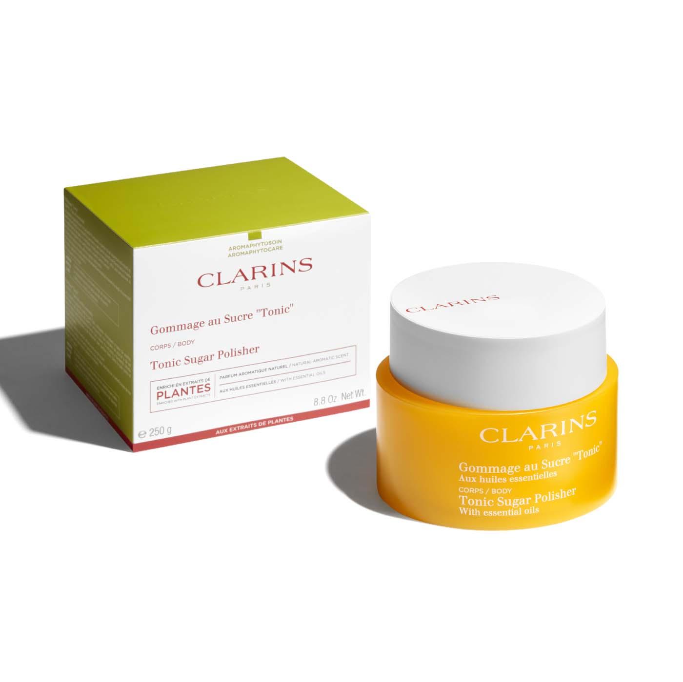 """Clarins Exfoliante Cuerpo """"Tonic""""  a Base de Aceites Esenciales"""