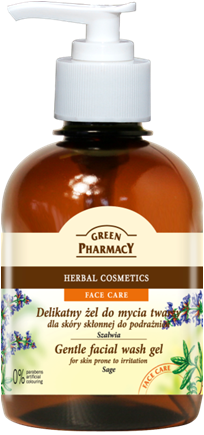 Green Pharmacy Gel Lavado Facial Salvia