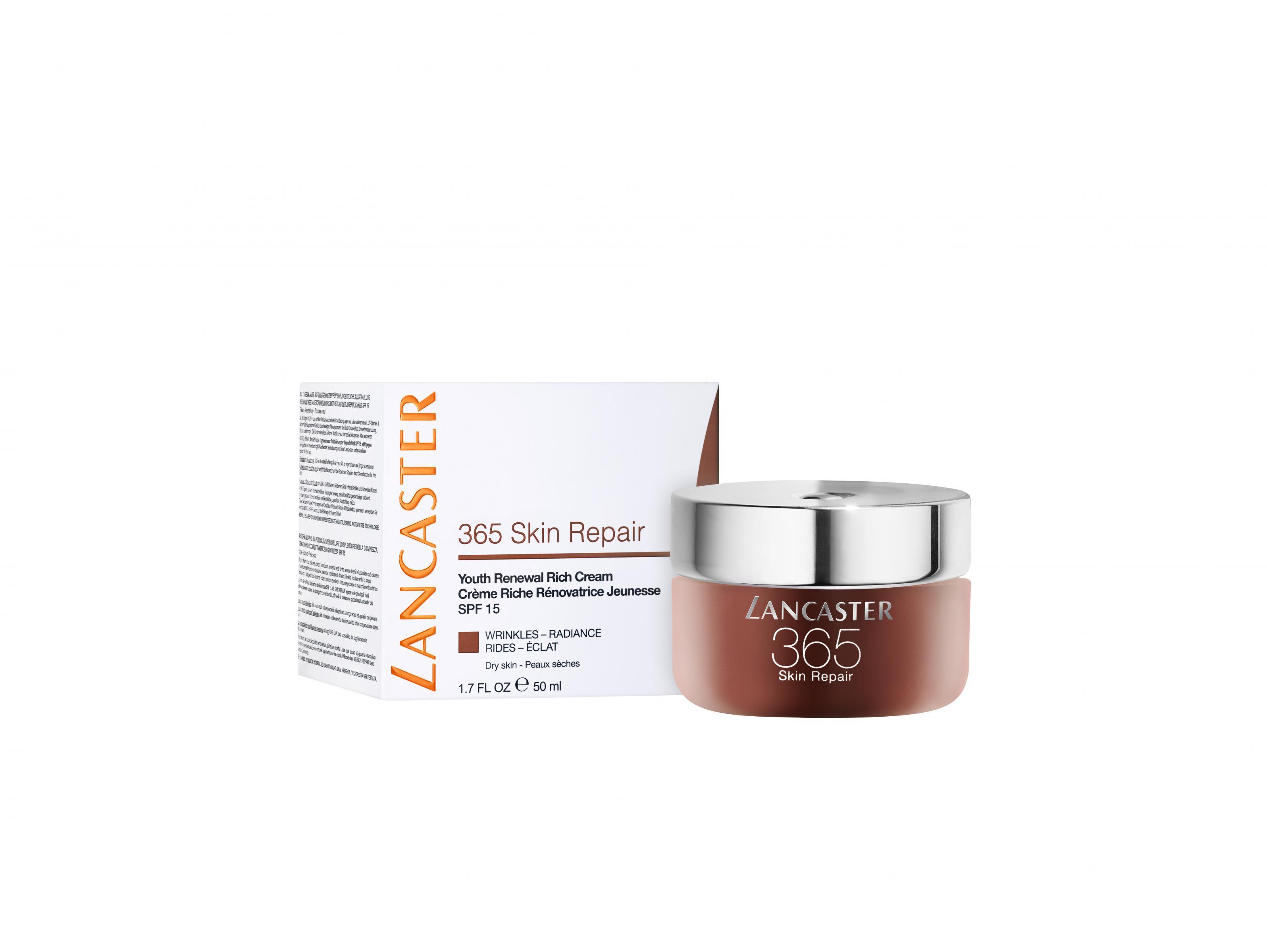 Lancaster 365 Skin Repair Rich Crema Hidratante de Día  50 ml