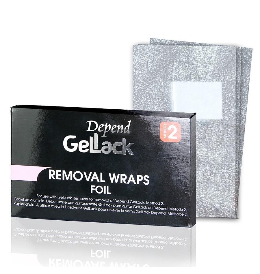 Beter Gellack Bandas Para Remover  10 unidades