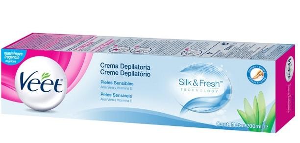 Veet Crema Depilatoria Piel Sensible  200 ml