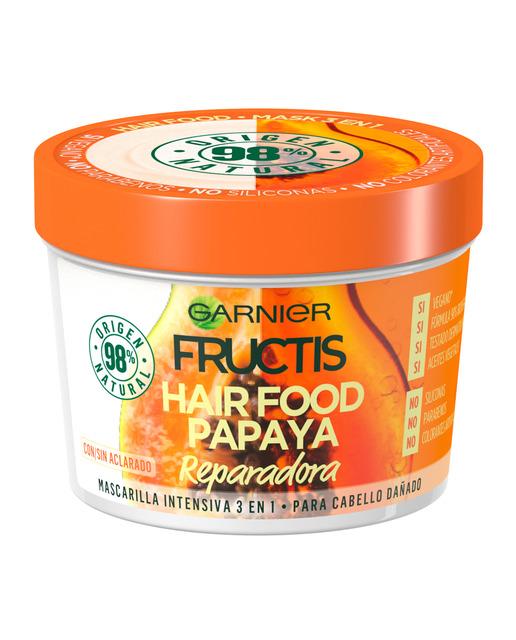 Fructis Mascarilla Hair Food Papaya  390 ml