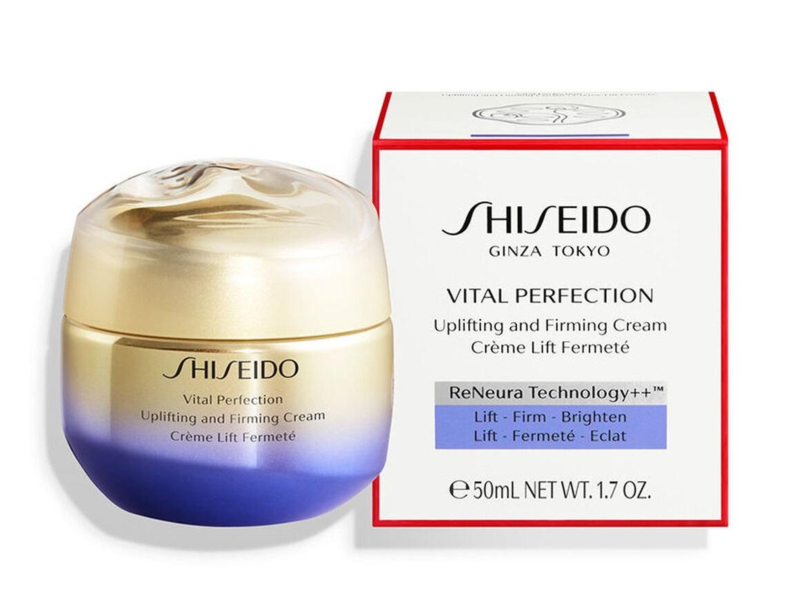 Shiseido Vital Perfection Uplifting and Firming Cream  50 ml Para todo tipo de peiles