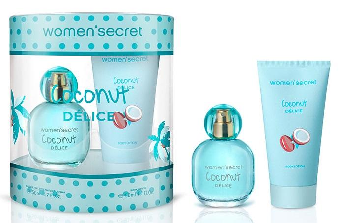 Women'Secret Coconut Delice Estuche  Eau de Toilette 500 ml + Loción corporal 50 ml