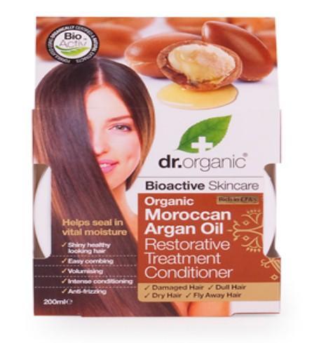 Dr. Organic Mascarilla Acondicionadora Capilar de Aceite Argán