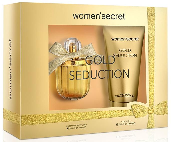 Women'Secret Gold Seduction Estuche  Eau de Parfum 100 ml + Loción corporal 200 ml