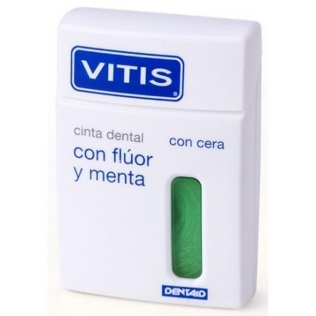 Vitis Cinta dental con flúor y menta  50 m