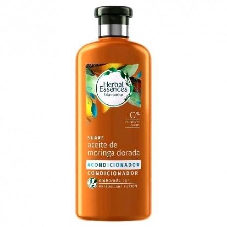 Herbal Essences Acondicionador Suavizante Aceite de Moringa  400 ml