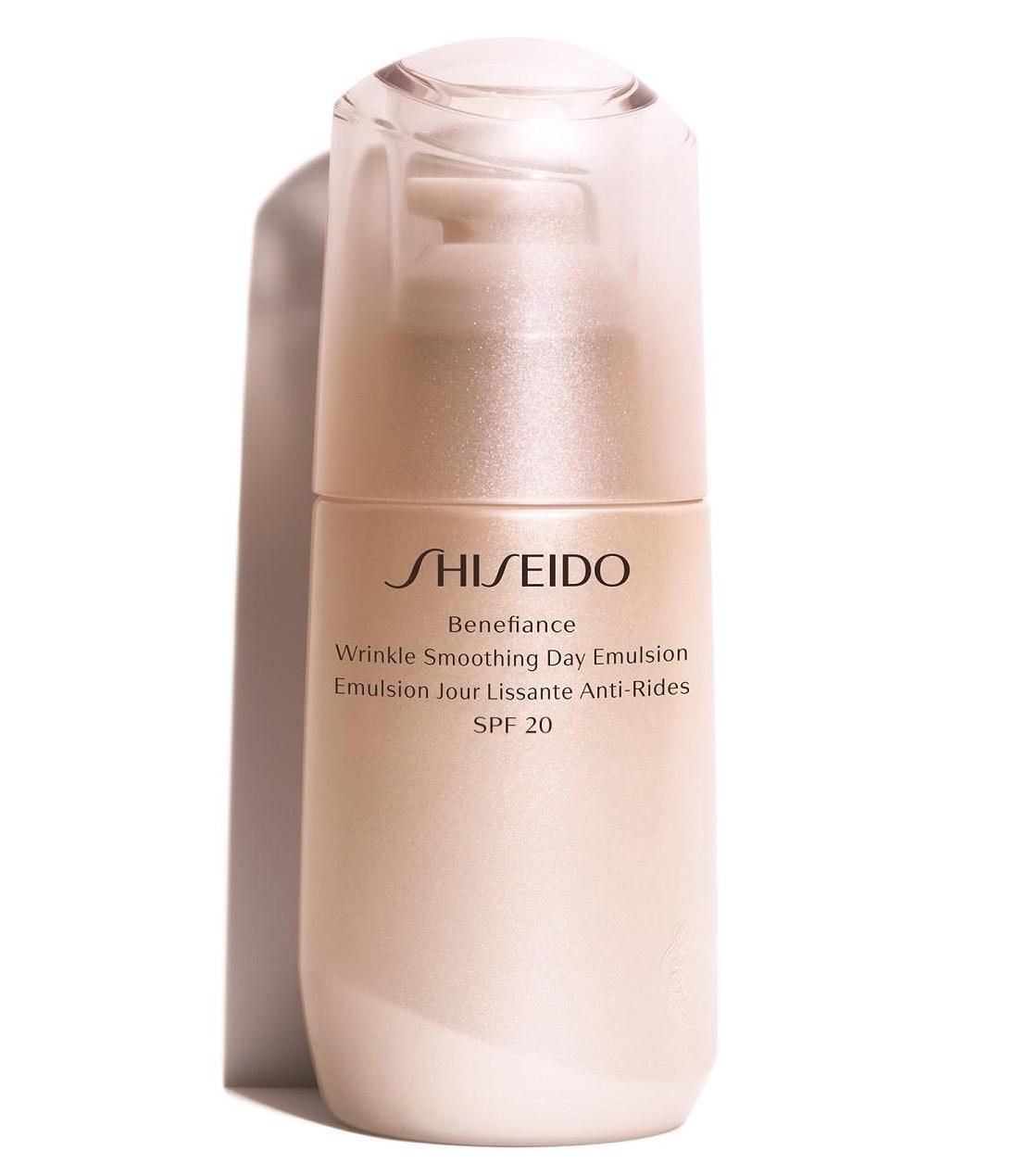 Shiseido Benefiance Wrinkle Smoothing Day Emulsion SPF20  75 ml