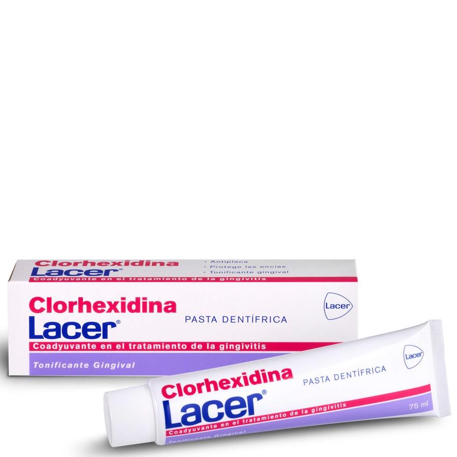 Lacer Dentífrico Clorhexidina  75 ml