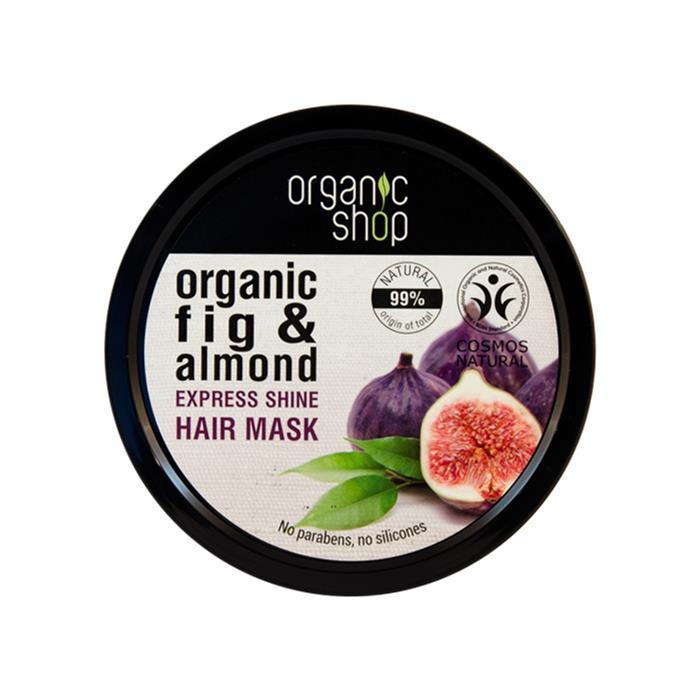 Organic Shop Mascarilla capilar brillo express con higo griego