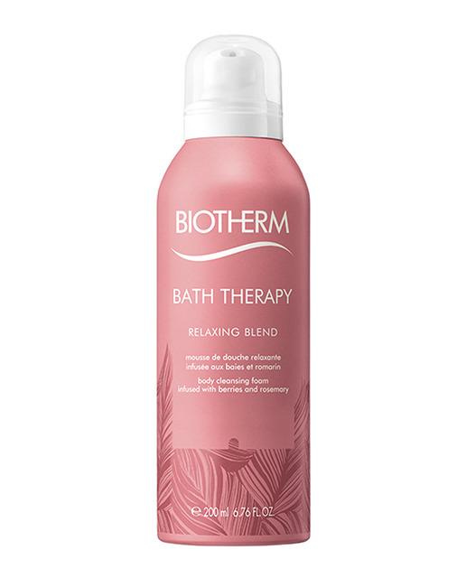 Biotherm Bath Therapy Relax Foam  Mousse Limpiadora 200 ml