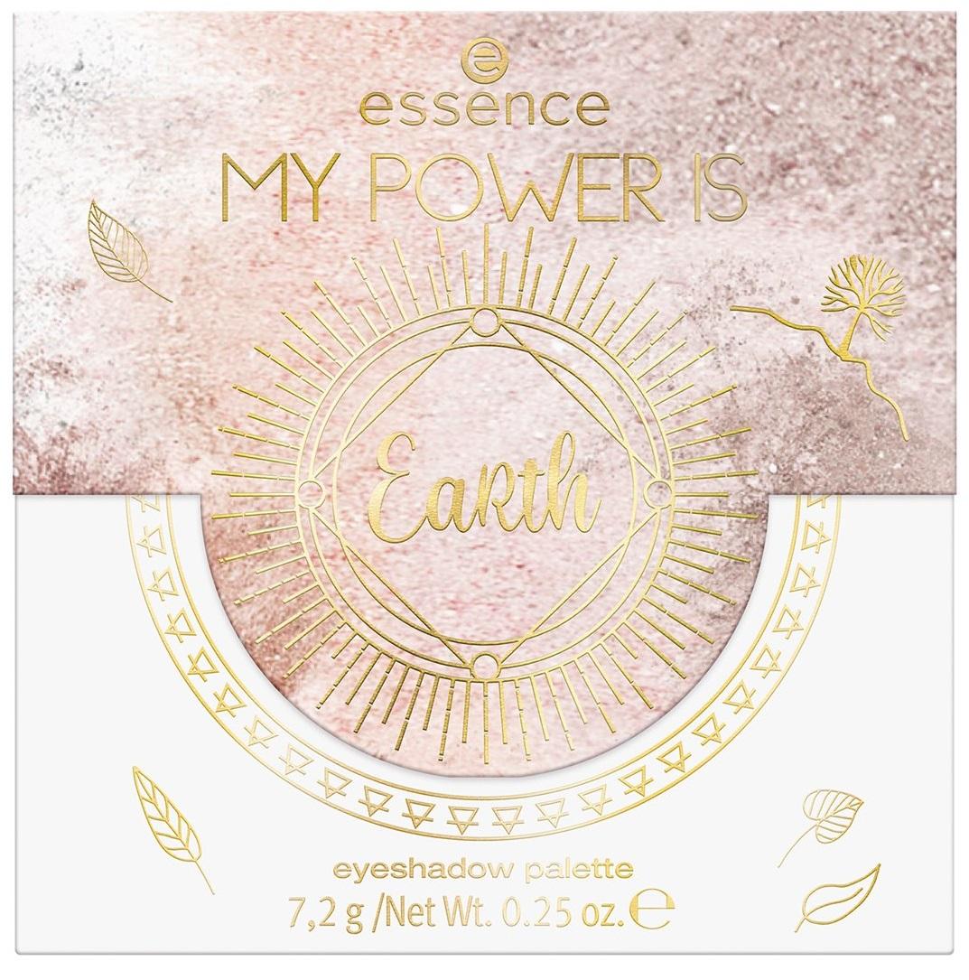 ESSENCE  MY POWER IS EARTH PALETA DE SOMBRAS  02