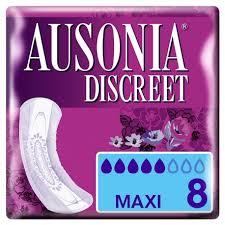 Ausonia Discreet Maxi  8 Unidades