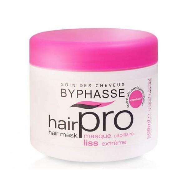 Byphasse Hair Pro Liss Extreme Mascarilla Capilar Cabello Rebelde  500 ml