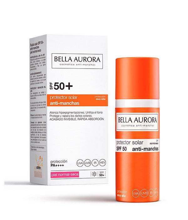 Bella Aurora Protector Solar Anti-Manchas SPF50+  Piel Normal / Seca
