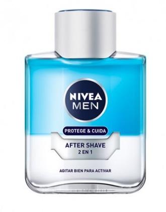 Nivea Loción After Shave 2 en 1 Protección y Cuidado  100 ml