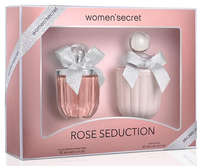 Women'Secret Rose Seduction Estuche  Eau de Toilette 100 ml + Loción corporal 200 ml