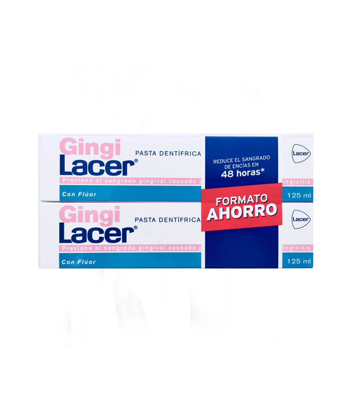 Lacer Gingilacer Dentífrico  2x125 ml