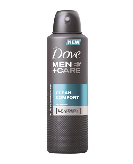 Dove Men Desodorante Spray Clean Comfort  200 ml