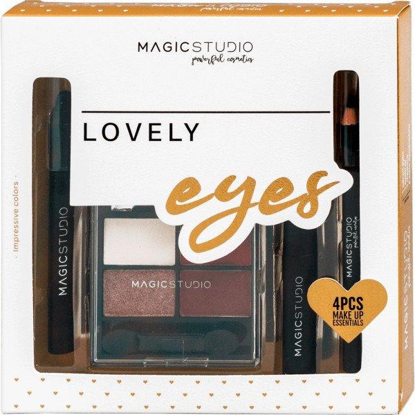 Magic Studio Lovely Eyes  Kit de Maquillaje