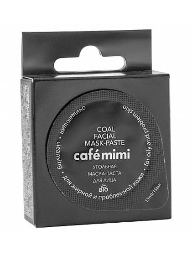 Café Mimi Mascarilla Facial de Carbón
