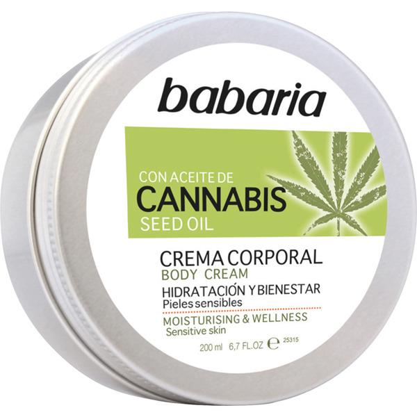 Babaria Body Milk Cannabis  200 ml