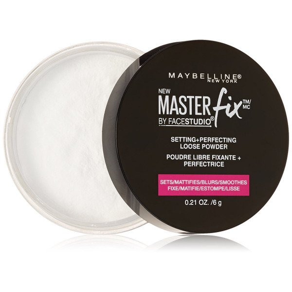 Maybelline Master Fix Setting + Perfecting Loose Powder  Polvos Matificantes