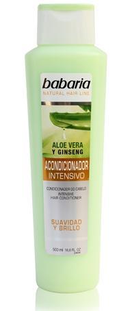 Babaria Acondicionador Intensivo Aloe  500 ml