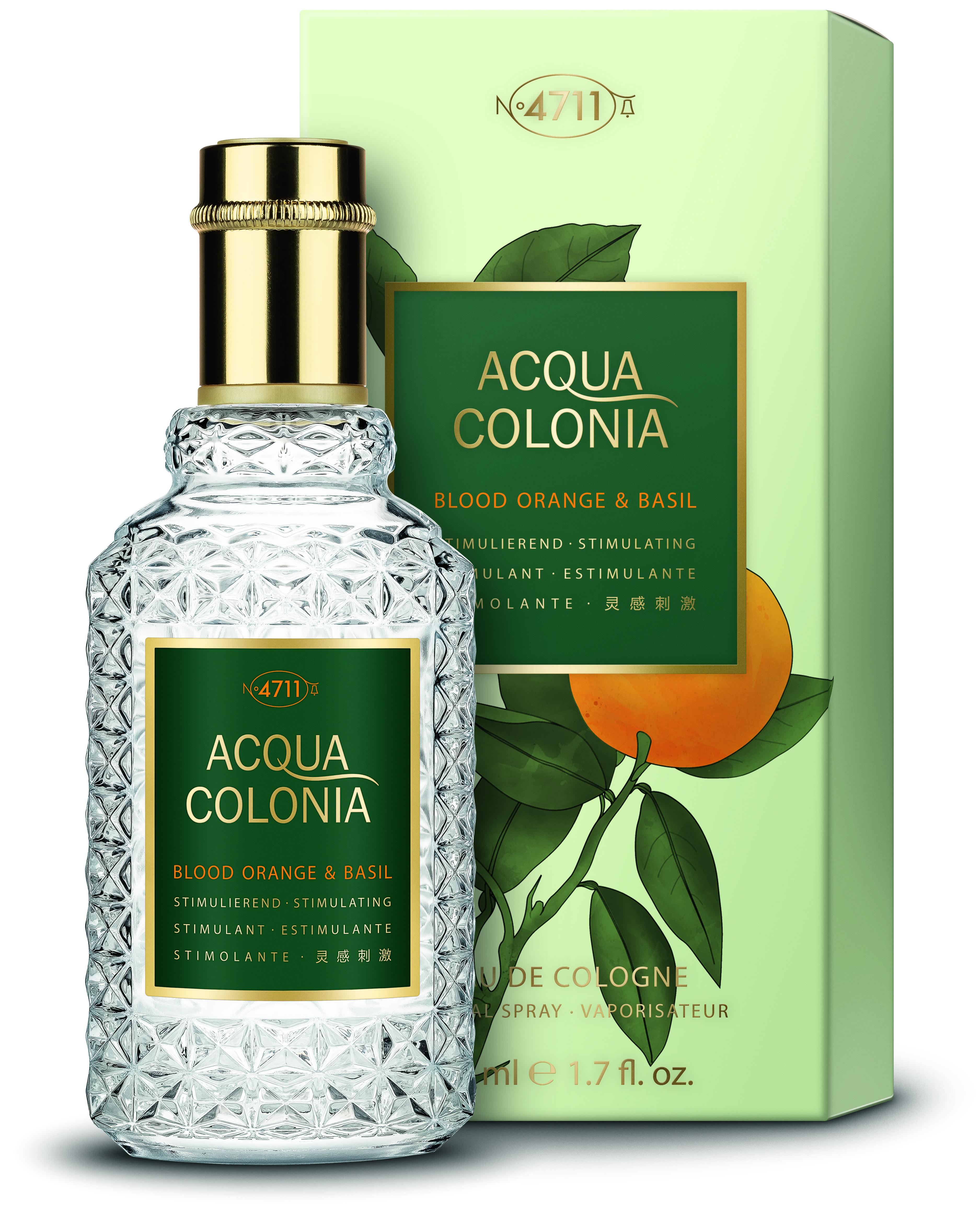 4711 Acqua Colonia Blood Orange & Basil  Eau de Cologne unisex 50 ml