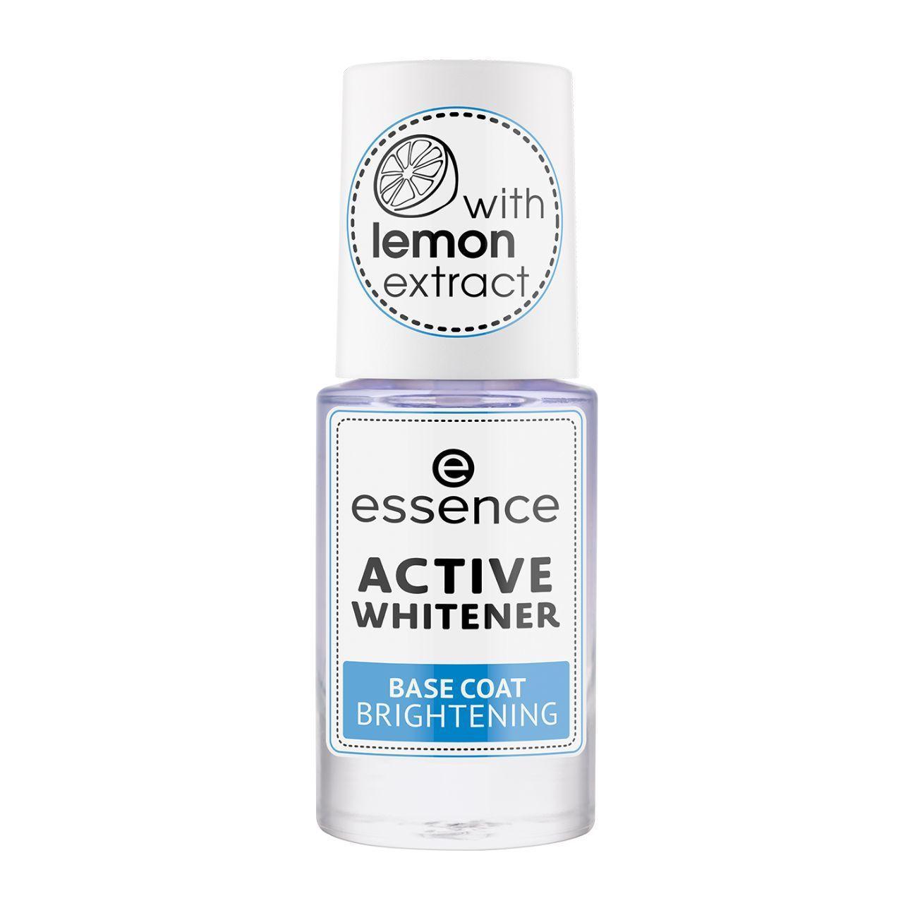 Essence Active Whitener Base De Uñas Brillo